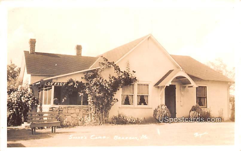 Sharp's Camp - Branson, Missouri MO Postcard