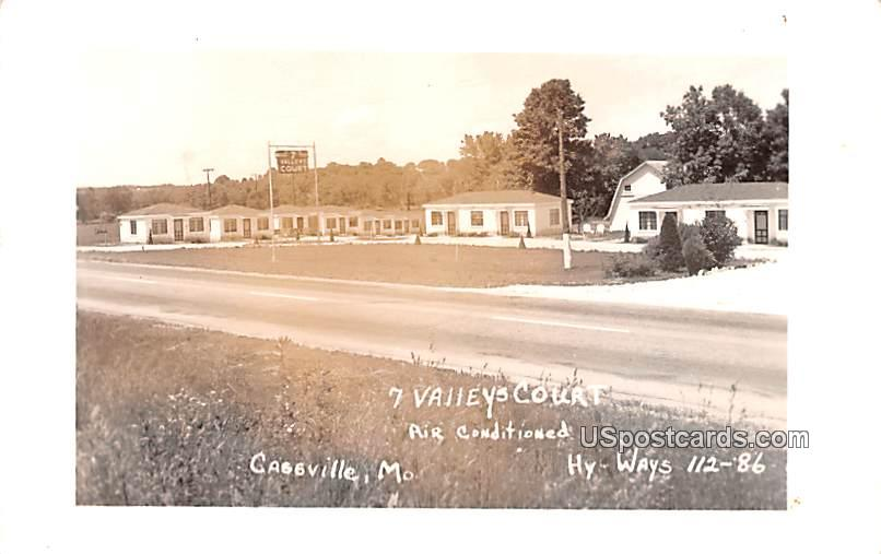 7 Valley Court - Cassville, Missouri MO Postcard