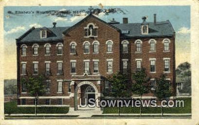 St. Elizabeth's Hospital - Hannibal, Missouri MO Postcard