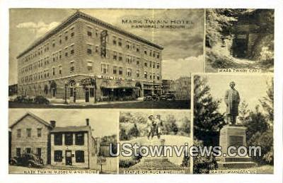 Mark Twain Hotel - Hannibal, Missouri MO Postcard