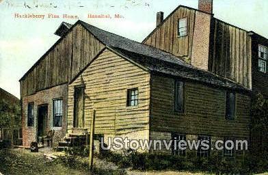 Huckleberry Finn Home - Hannibal, Missouri MO Postcard