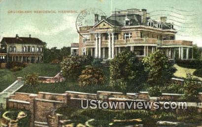 Cruikshank Residence - Hannibal, Missouri MO Postcard