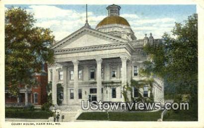 Court House - Hannibal, Missouri MO Postcard