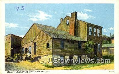 Home of Huckleberry Finn - Hannibal, Missouri MO Postcard