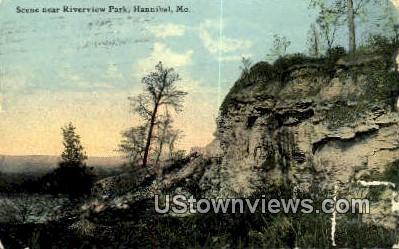 Riverview Park - Hannibal, Missouri MO Postcard