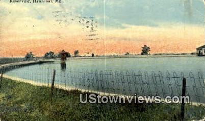 Reservoir - Hannibal, Missouri MO Postcard