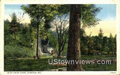 Mark Twain Cove - Hannibal, Missouri MO Postcard