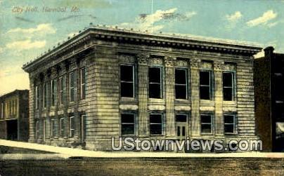 City Hall - Hannibal, Missouri MO Postcard