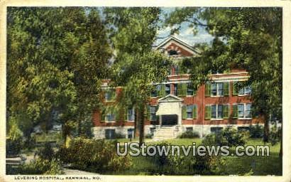 Levering Hospital - Hannibal, Missouri MO Postcard