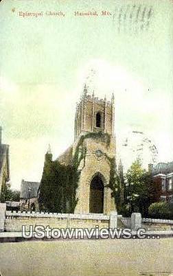 Episcopal Church - Hannibal, Missouri MO Postcard