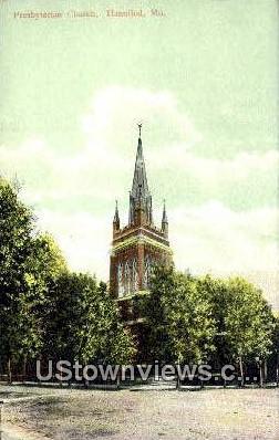 Presbyterian Church - Hannibal, Missouri MO Postcard
