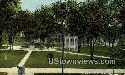 Central Park - Hannibal, Missouri MO Postcard