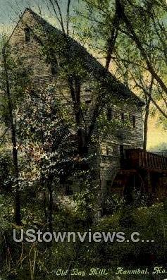 Old Bay Mill - Hannibal, Missouri MO Postcard