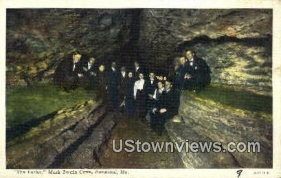 The Parlor, Mark Twain Cave - Hannibal, Missouri MO Postcard