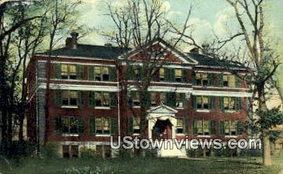 hospital - Hannibal, Missouri MO Postcard