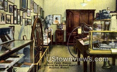 Mark Twain Museum - Hannibal, Missouri MO Postcard