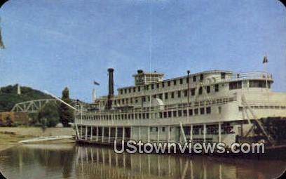 Gordon C. Greene, Steamboat - Hannibal, Missouri MO Postcard