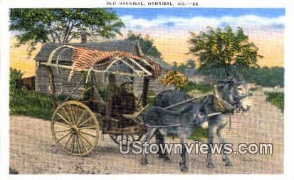 Old Hannibal - Missouri MO Postcard