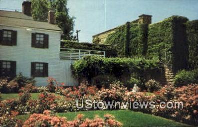 Dulany Mahan Memorial Garden - Hannibal, Missouri MO Postcard