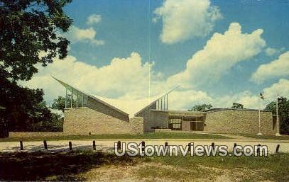 Mark Twain Birthplace Memorial Shrine - Hannibal, Missouri MO Postcard