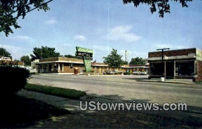 Lori-Lynn Motel - Hannibal, Missouri MO Postcard