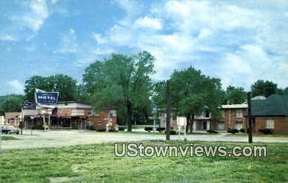 Ahler's Motel & Dining Room - Hannibal, Missouri MO Postcard