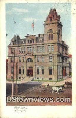 Post Office - Hannibal, Missouri MO Postcard