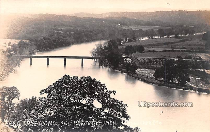 Lake Tineycomo - Hollister, Missouri MO Postcard