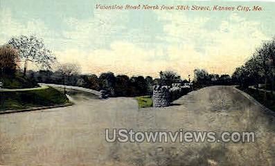 Valentine Road - Kansas City, Missouri MO Postcard