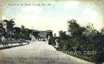 Pagoda on the Paseo - Kansas City, Missouri MO Postcard