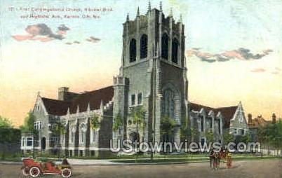First Congregational Church - Kansas City, Missouri MO Postcard
