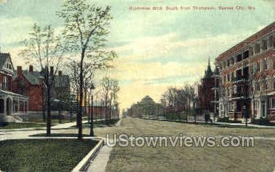 Gladstone Blvd - Kansas City, Missouri MO Postcard