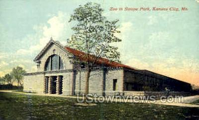 Zoo in Swope Park - Kansas City, Missouri MO Postcard