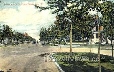 Linwood East - Kansas City, Missouri MO Postcard