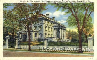 Kansas City Museum - Missouri MO Postcard