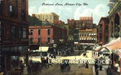 Petticoat Lane - Kansas City, Missouri MO Postcard