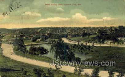 Penn Valley Park - Kansas City, Missouri MO Postcard