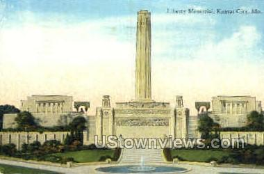 Liberty Memorial - Kansas City, Missouri MO Postcard