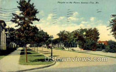 Pergola on the Paseo - Kansas City, Missouri MO Postcard