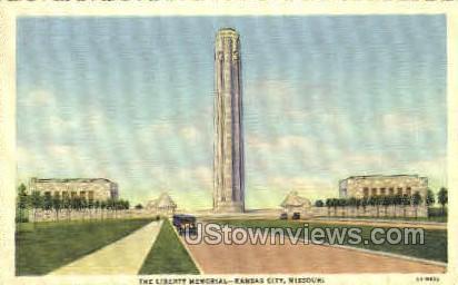Liberty Memorial - Kansas City, Missouri MO Postcard