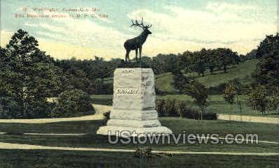 Mt. Washington - Kansas City, Missouri MO Postcard