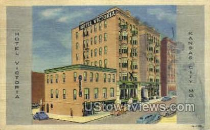 Hotel Victoria - Kansas City, Missouri MO Postcard