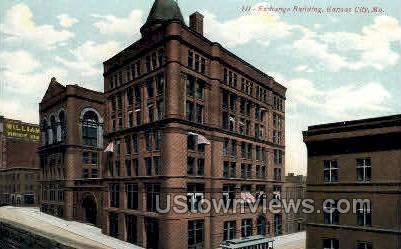 Exchange Bldg - Kansas City, Missouri MO Postcard