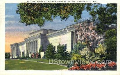 William Rockhill Nelson Gallery - Kansas City, Missouri MO Postcard