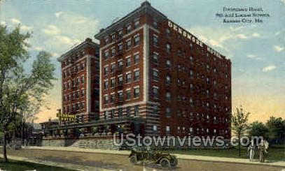 Densmore Hotel - Kansas City, Missouri MO Postcard