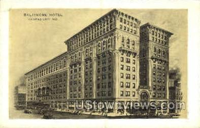 Baltimore Hotel - Kansas City, Missouri MO Postcard