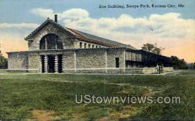 Zoo Bldg, Swope Park - Kansas City, Missouri MO Postcard