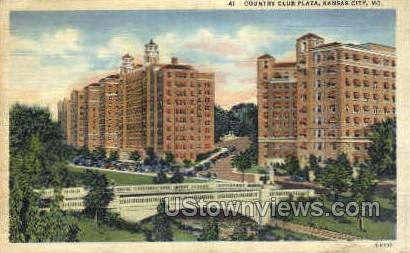 Country Club Plaza - Kansas City, Missouri MO Postcard
