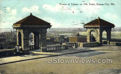 Towers at Terrace - Kansas City, Missouri MO Postcard