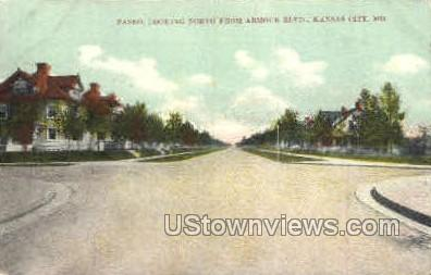 Paseo - Kansas City, Missouri MO Postcard